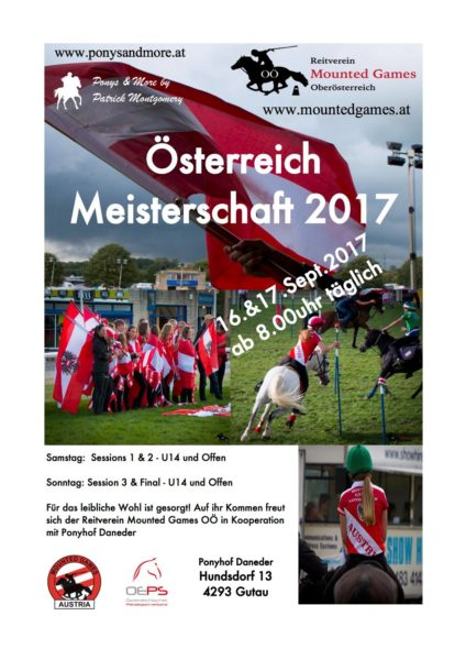Flyer - MG Turnier - Team 2017